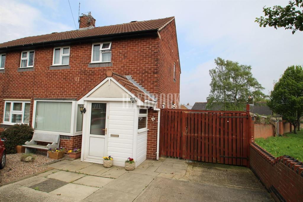 2 Bedrooms Semi Detached House for sale in Clifton Close, Athersley