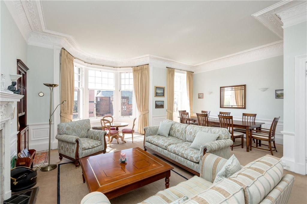 5 Bedrooms Flat for sale in Kinnear Road, Inverleith, Edinburgh, EH3