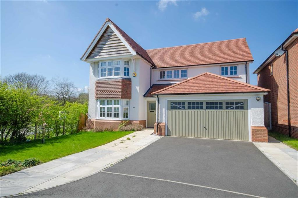 4 Bedrooms Detached House for sale in Fox Field, Northop, Mold