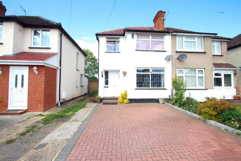 3 Bedrooms Semi Detached House for sale in Hayes End