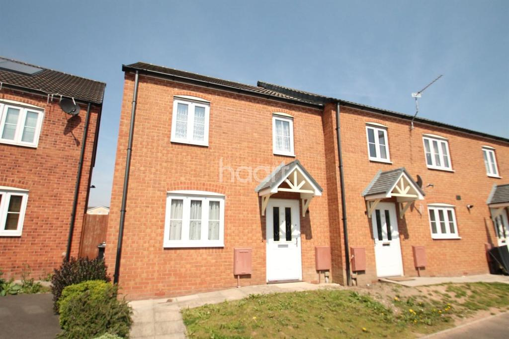 2 Bedrooms Terraced House for sale in Argosy Close, Newport