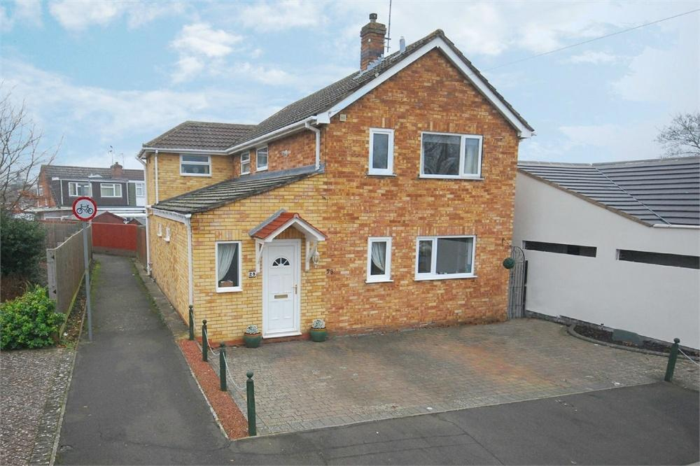 4 Bedrooms Detached House for sale in Macbeth Close, Woodlands, RUGBY, Warwickshire