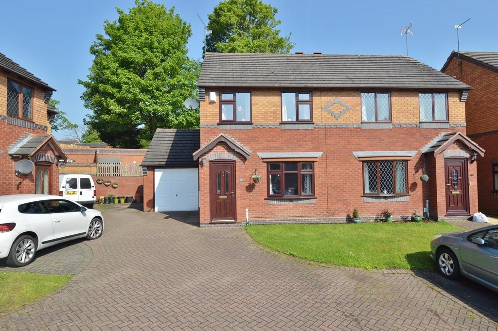 3 Bedrooms Semi Detached House for sale in Scholars Gate, Brereton
