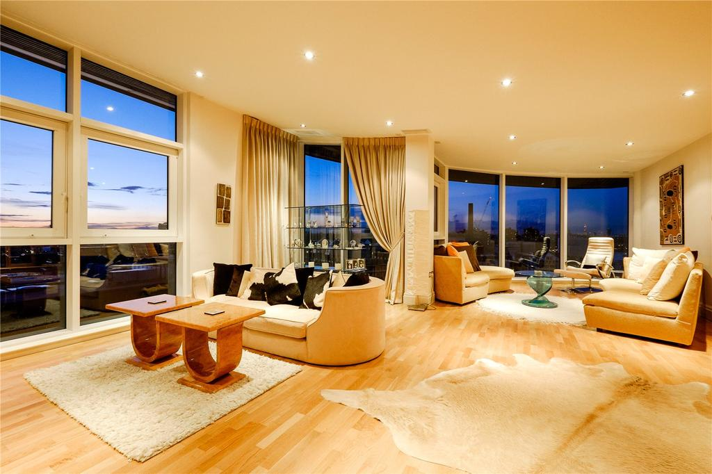 5 Bedrooms Penthouse Flat for sale in Chelsea Vista, The Boulevard, Imperial Wharf, Fulham, SW6