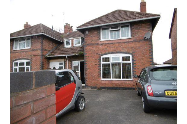 3 Bedrooms House for sale in BROCKHURST STREET, WALSALL