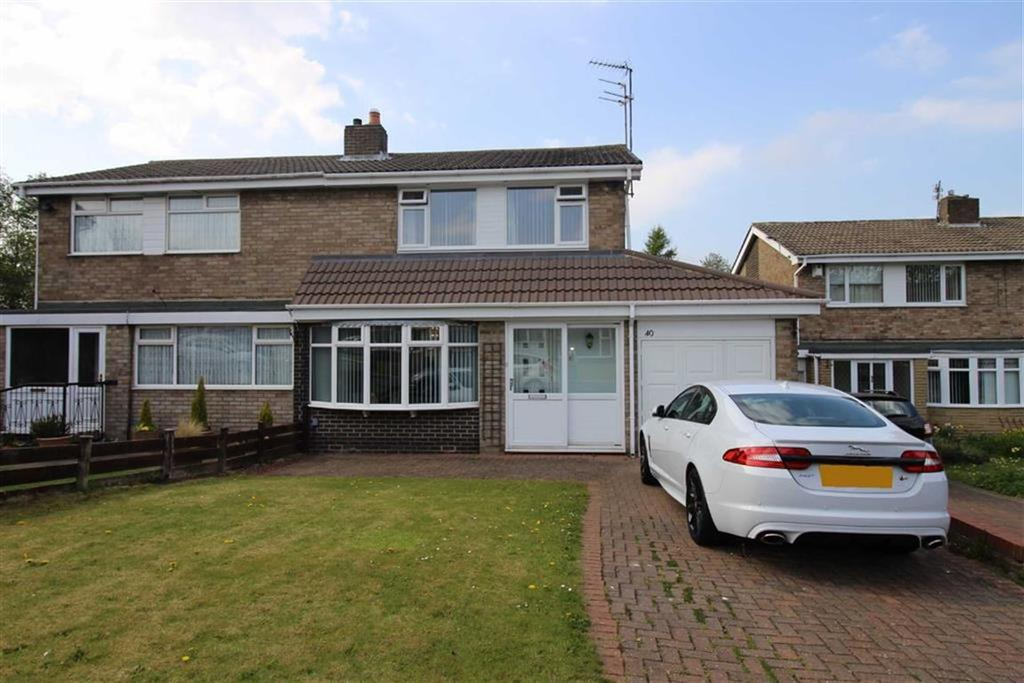 3 Bedrooms Semi Detached House for sale in St Buryan Crescent, Newcastle Upon Tyne, NE5
