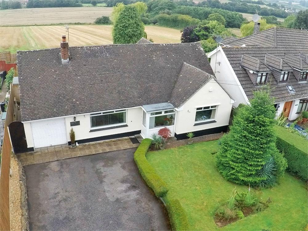 3 Bedrooms Detached Bungalow for sale in Began Road, Old St Mellons, Cardiff