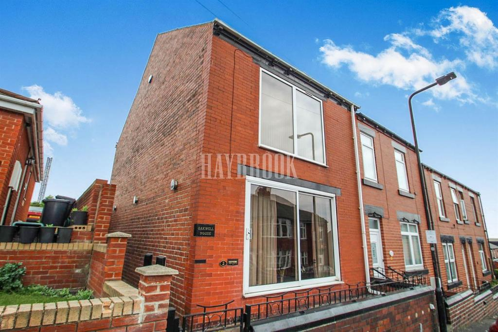 2 Bedrooms End Of Terrace House for sale in Belgrave Road, Barnsley