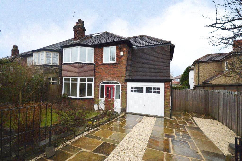 4 Bedrooms Semi Detached House for sale in Church Gardens, Moortown, Leeds