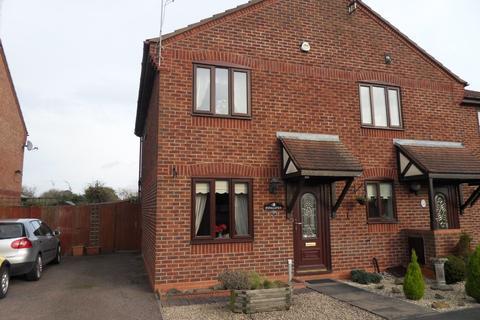 2 bedroom semi-detached house to rent - Wensum Close, Hinckley