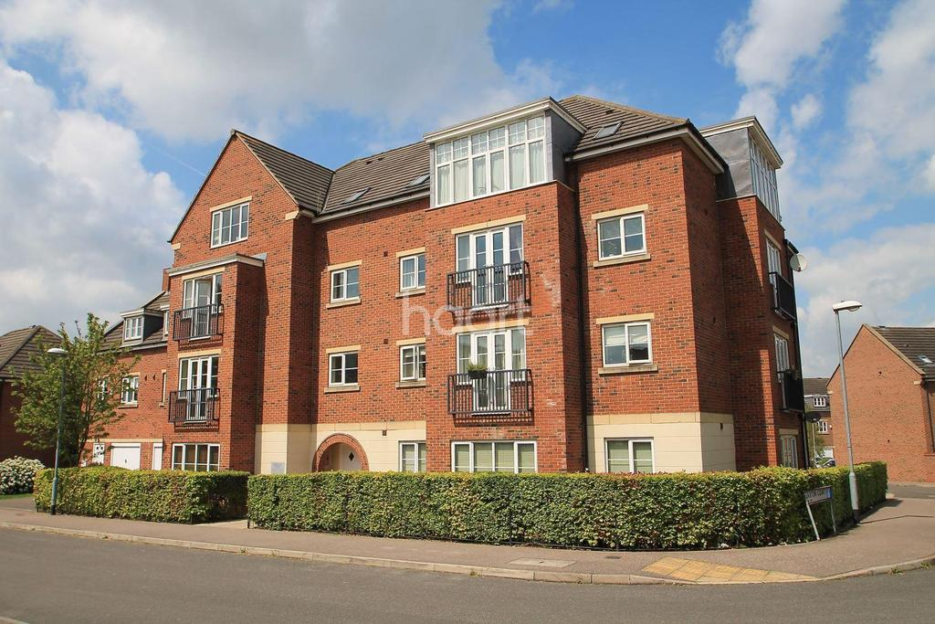2 Bedrooms Flat for sale in Gardenia House, Edison Way, Arnold, Nottingham