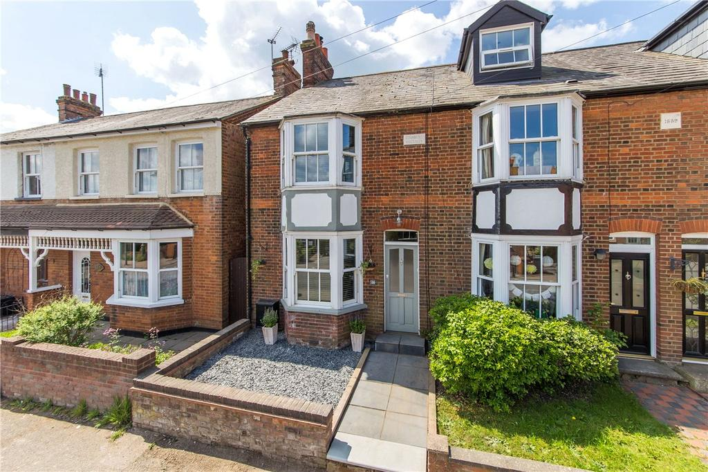 2 Bedrooms End Of Terrace House for sale in High Street, Codicote, Hitchin, Hertfordshire