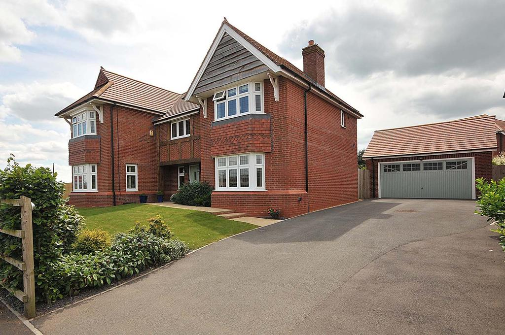 5 Bedrooms Detached House for sale in Douglas Close, Hartford