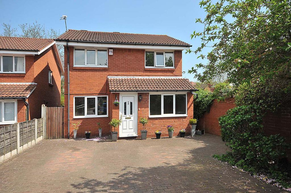 3 Bedrooms Detached House for sale in Suffolk Drive, Wilmslow