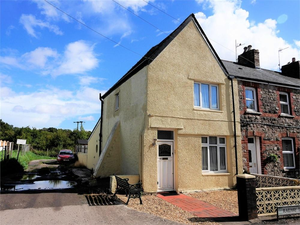 2 Bedrooms End Of Terrace House for sale in Railway Terrace, Dinas Powys