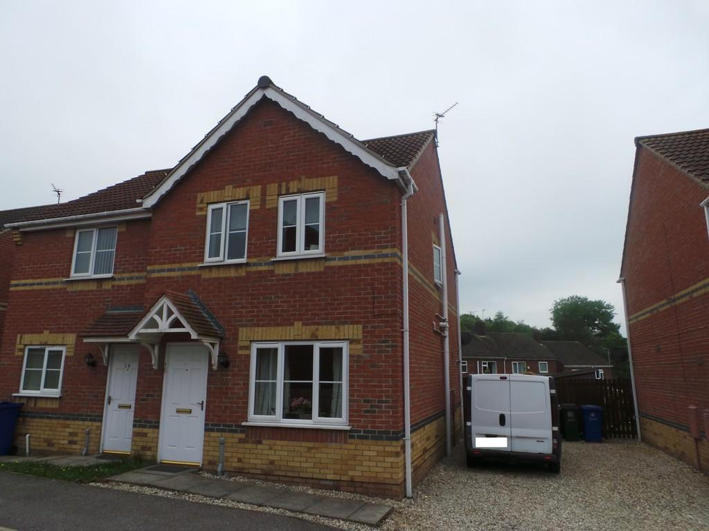 3 Bedrooms Semi Detached House for sale in Juniper Way, Gainsborough