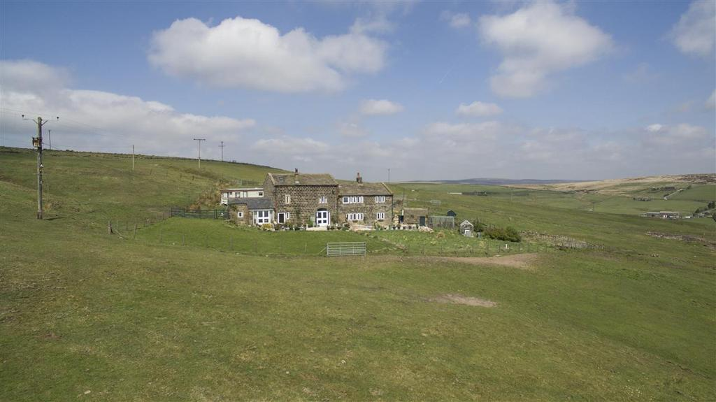 4 Bedrooms Farm House Character Property for sale in Slade Farm, Colden, Hebden Bridge