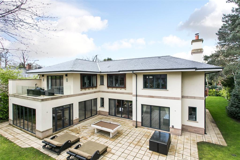 6 Bedrooms Detached House for sale in Torkington Road, Wilmslow, Cheshire, SK9