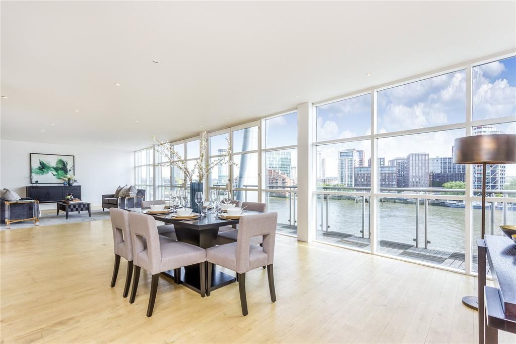 4 Bedrooms Penthouse Flat for sale in Icon Apartments, 129 Grosvenor Road, Pimlico, SW1V