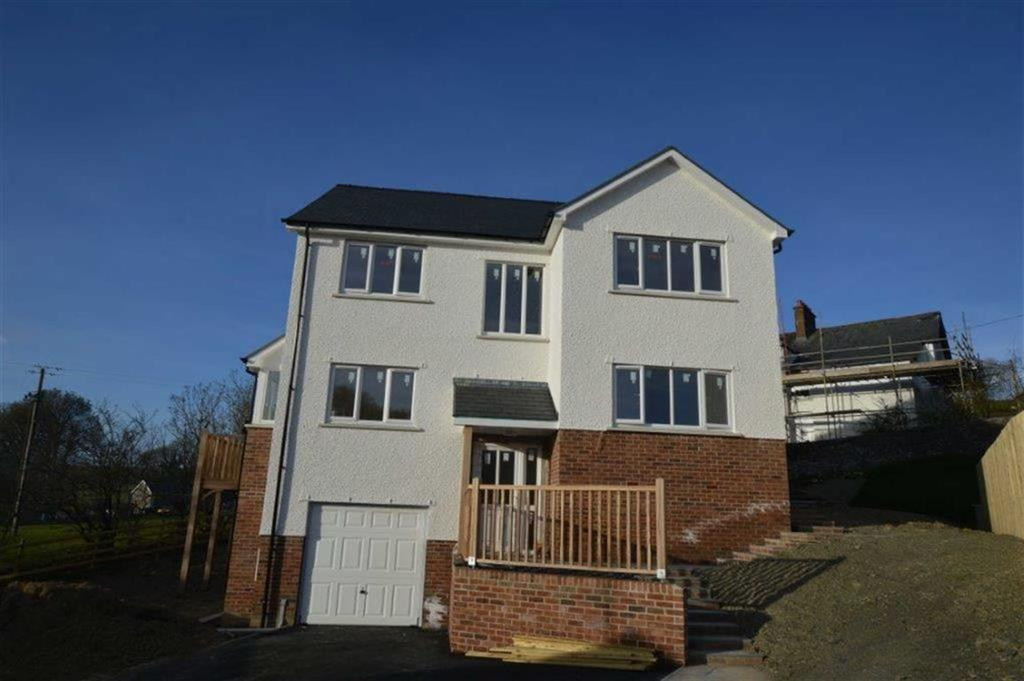 4 Bedrooms Detached House for sale in New Build, Plot 1, Adj To Ty'r Ysgol, Lledrod, Aberystwyth, Ceredigion, SY23