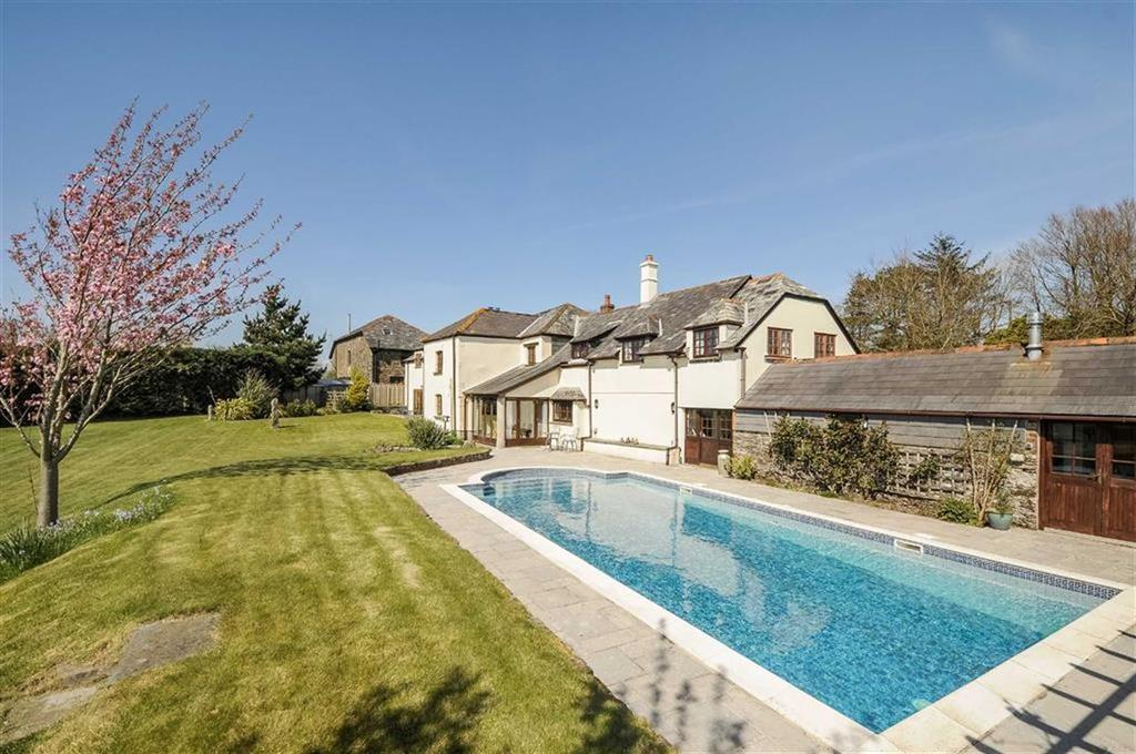 4 Bedrooms Detached House for sale in Polbathic, Polbathic, Torpoint, Cornwall, PL11