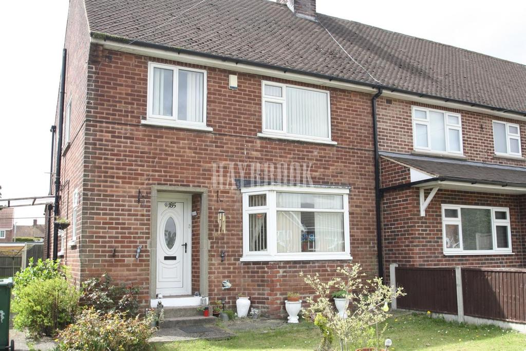 3 Bedrooms Semi Detached House for sale in Wales Road, Kiveton Park