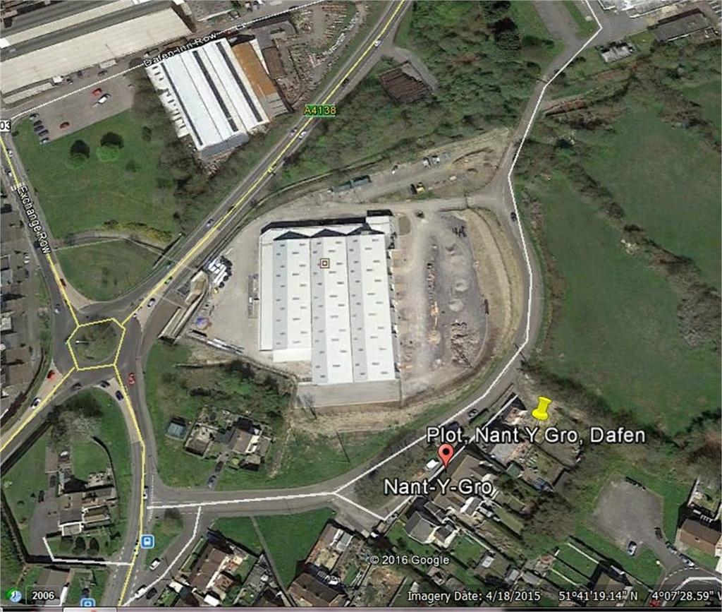 Land Commercial for sale in Plot 1, Nant Y Gro, Dafen, Llanelli, Carmarthenshire