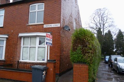 2 bedroom end of terrace house to rent - Stafford Street Off Melton Road Leicester