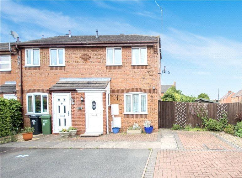 2 Bedrooms Semi Detached House for sale in Perscoran Way, Pershore, Worcestershire, WR10