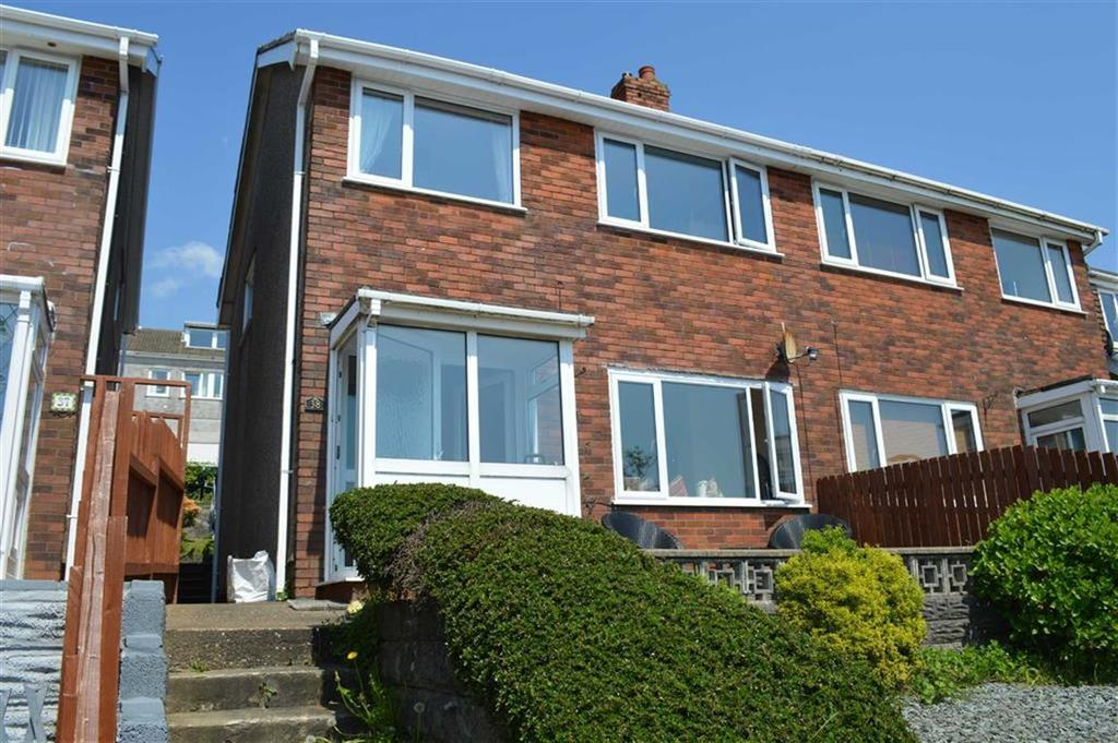 3 Bedrooms Semi Detached House for sale in Brynmead Close, Swansea, SA2