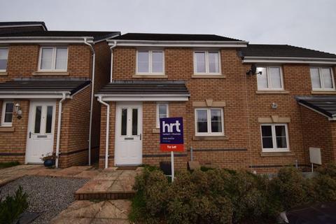 3 bedroom semi-detached house to rent - Clos Yr Eryr, Coity, Bridgend CF35 6HE