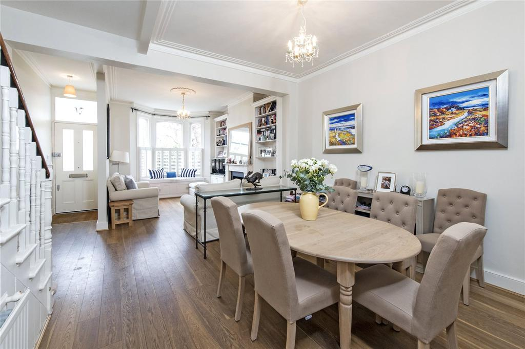 4 Bedrooms Terraced House for sale in Dighton Road, Tonsleys, London, SW18