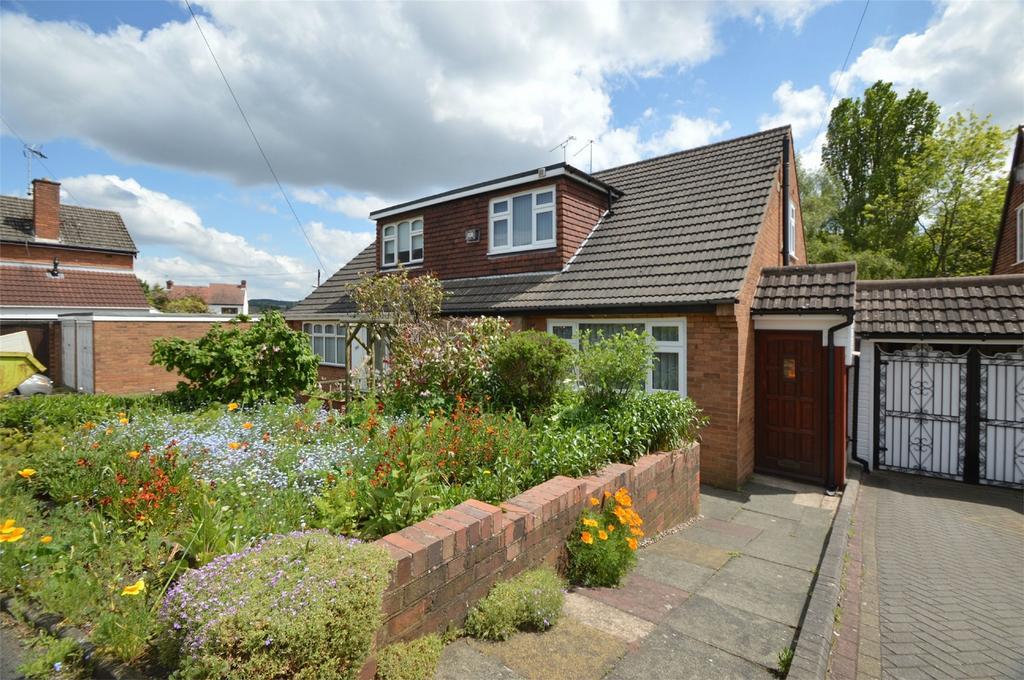 3 Bedrooms Semi Detached Bungalow for sale in Birch Tree Gardens, Brierley Hill, West Midlands
