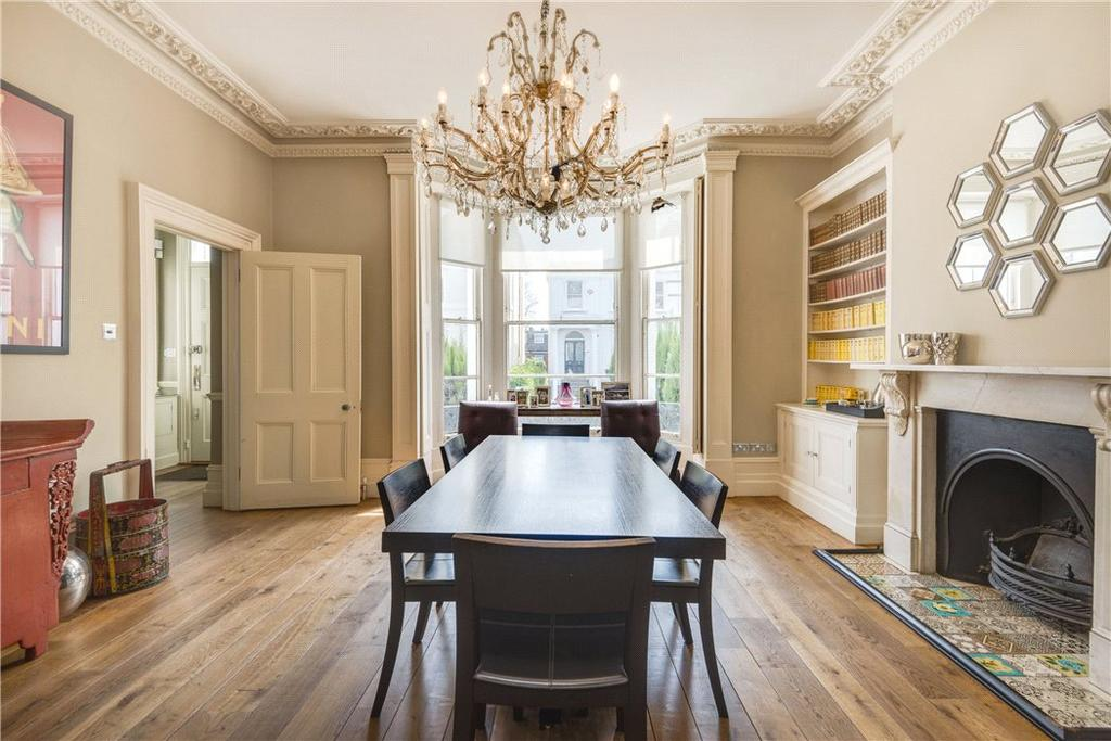 5 Bedrooms Semi Detached House for sale in Priory Road, South Hampstead, London, NW6
