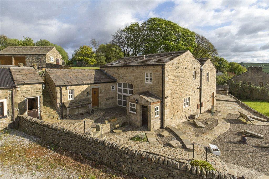 4 Bedrooms Detached House for sale in Winewall Farm Barn, Lane Top, Winewall, Colne