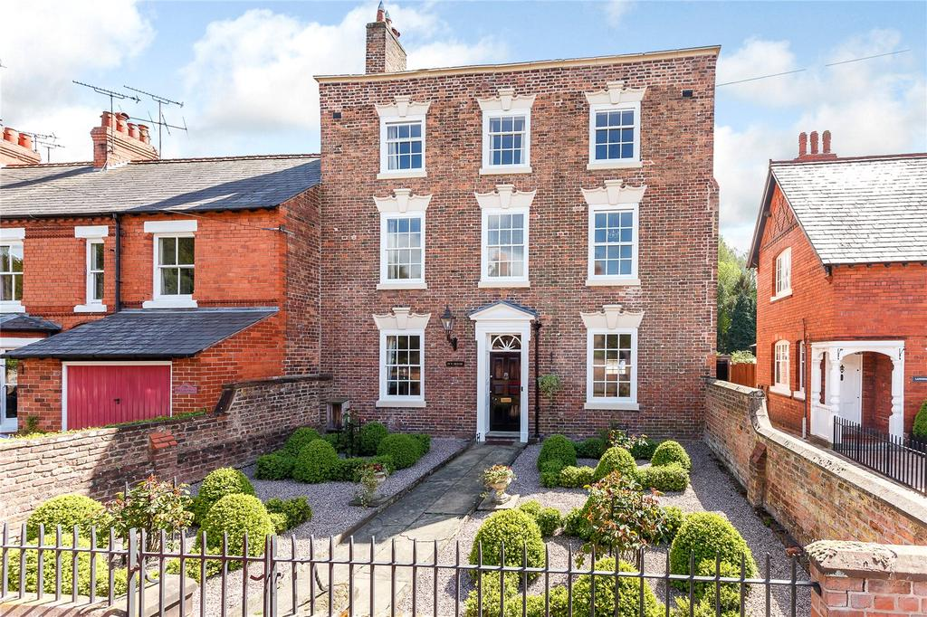 5 Bedrooms Semi Detached House for sale in Pepper Street, Christleton, Chester, Cheshire