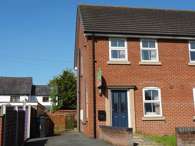 2 Bedrooms Semi Detached House for rent in 1 Red House Gardens, Gobowen