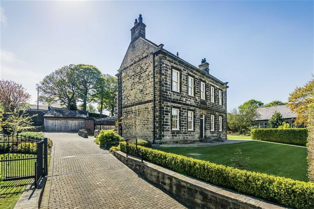 4 Bedrooms Detached House for sale in Wooldale Village, Wooldale, Holmfirth, HD9