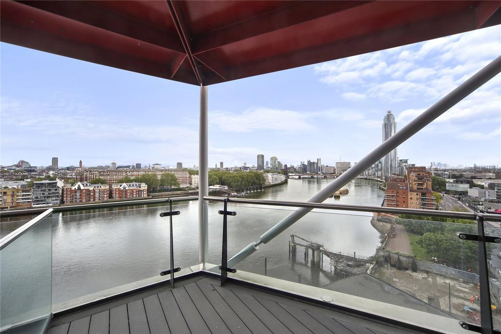 2 Bedrooms Flat for sale in Riverlight Quay, Nine Elms, London