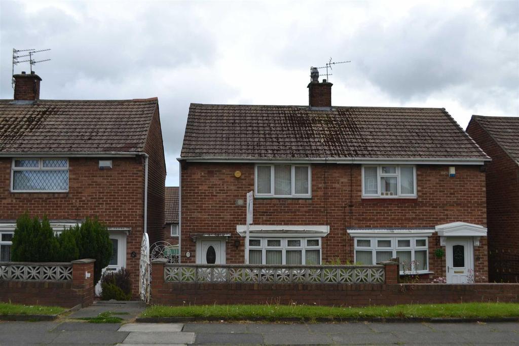 2 Bedrooms Semi Detached House for sale in Gleneagles Road, Gringon, Sunderland