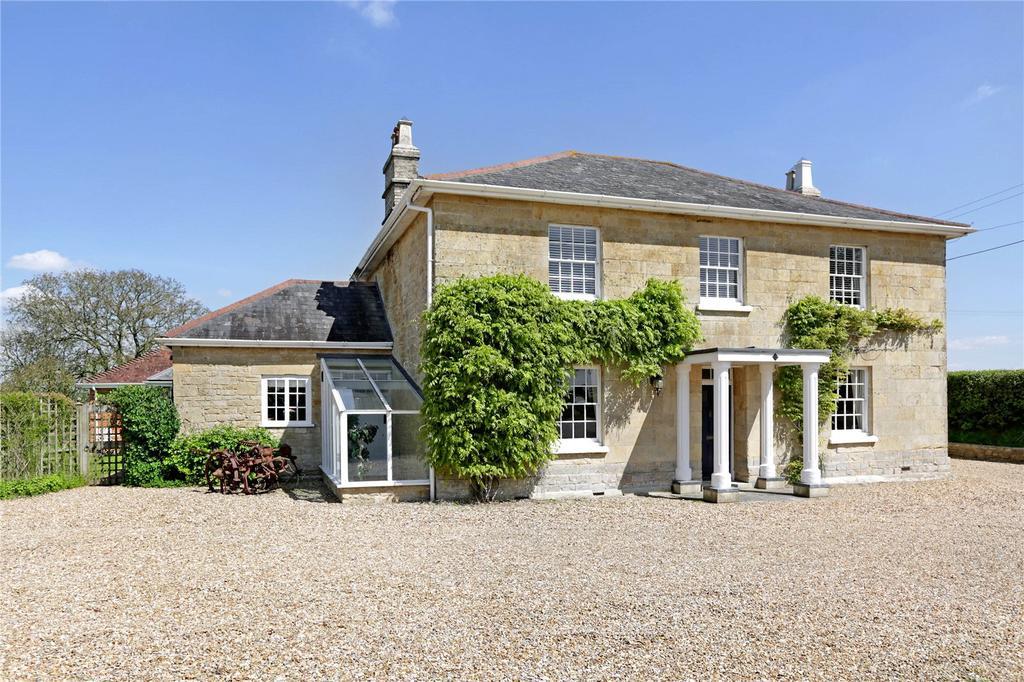5 Bedrooms Detached House for sale in Todber, Sturminster Newton, Dorset, DT10