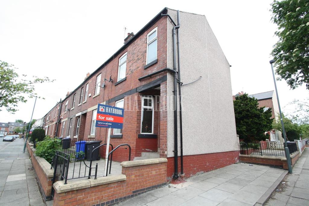 2 Bedrooms End Of Terrace House for sale in Kirton Road, Pitsmoor