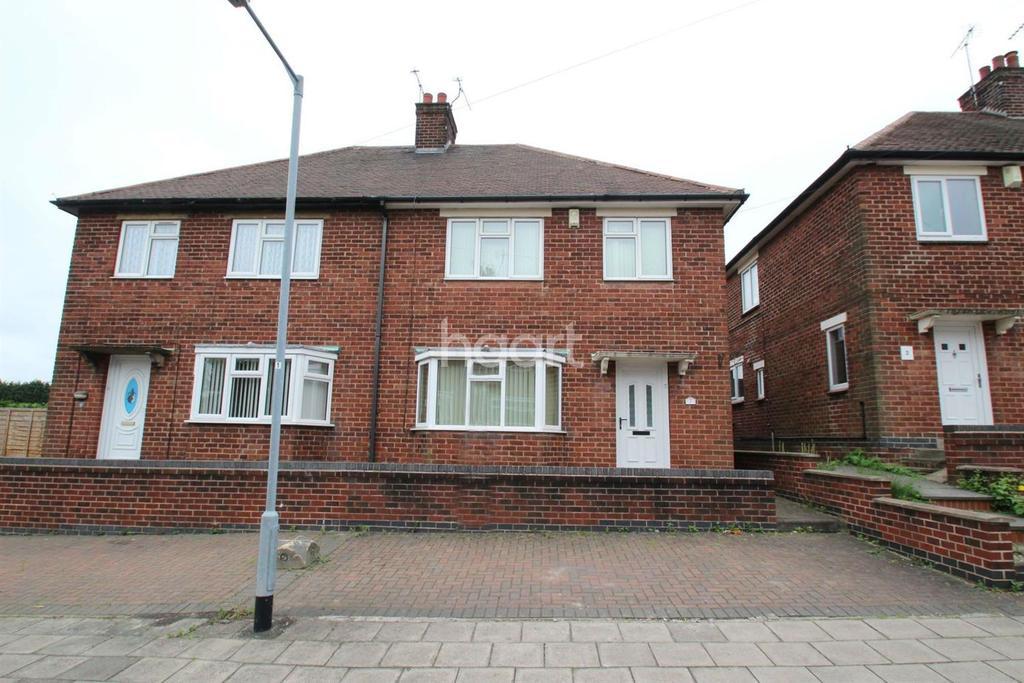 3 Bedrooms Semi Detached House for sale in Elizabeth Close, Hucknall