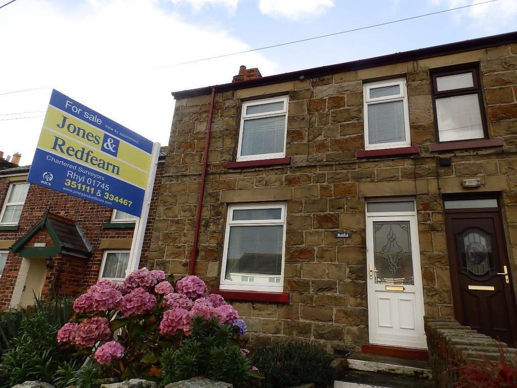 2 Bedrooms Semi Detached House for sale in Rhewl Fawr Road, Penyffordd, Holywell