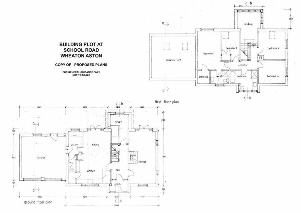 4 Bedrooms Land Commercial for sale in Building Plot At, School Road, Wheaton Aston, Stafford, South Staffordshire, ST19