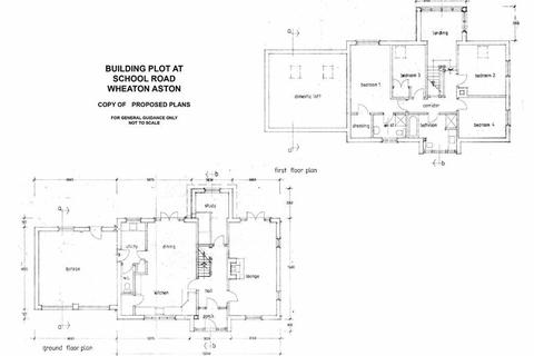 4 bedroom property with land for sale - Building Plot At, School Road, Wheaton Aston, Stafford, South Staffordshire, ST19