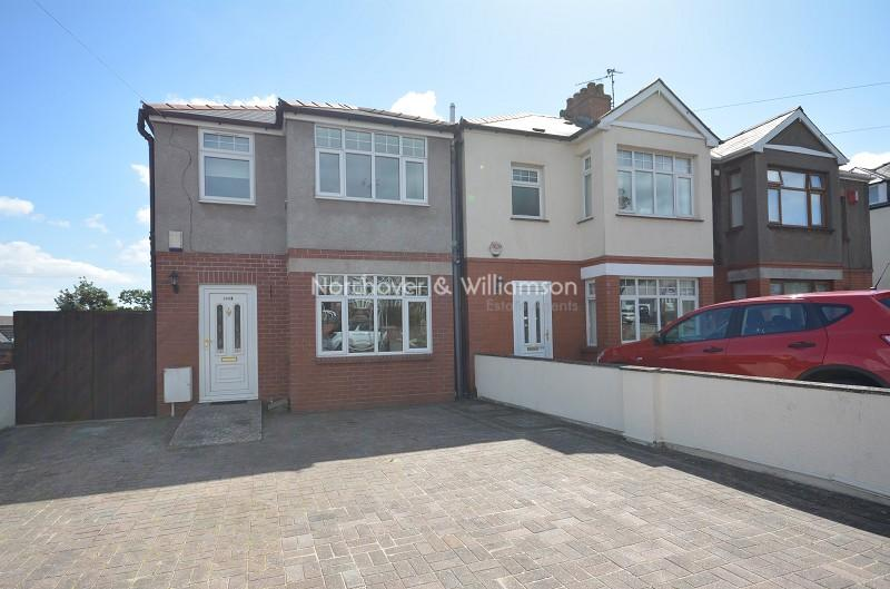 3 Bedrooms Semi Detached House for sale in New Road, Rumney, Cardiff. CF3