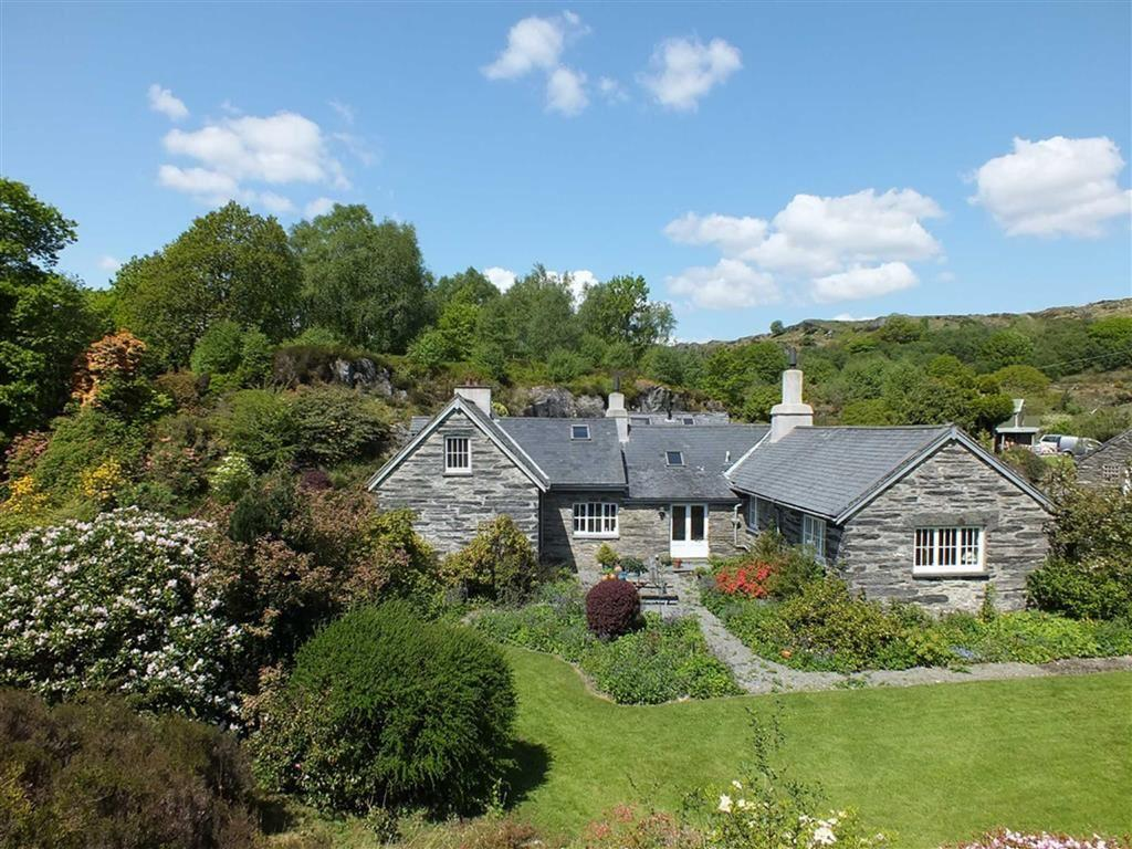 5 Bedrooms Country House Character Property for sale in Rhiw Goch, Lledr Valley