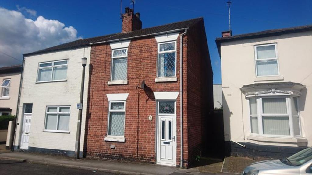 2 Bedrooms Semi Detached House for sale in 9 George Street, Worksop