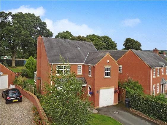 5 Bedrooms Detached House for sale in Willans Drive, Kerry, Newtown, Powys